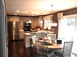 small eat in kitchen ideas small eat in kitchen ideas recessed downlights white exposed brick
