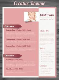 creative resume templates for administrative assistant free