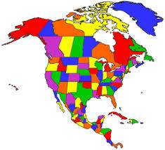 amarican map visited america map where i been in america map