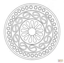 download coloring pages free printable ornament coloring page