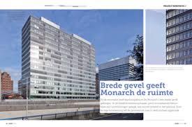 monarch architecture de monarch i featured in dutch magazine bouwwereld 06 2012 2012