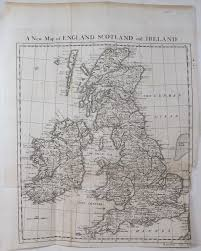 Map Of England And Ireland by A New Map Of England Scotland And Ireland Abebooks