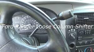 2000 ford ranger steering wheel 1999 ford ranger column shifter how to fix diy