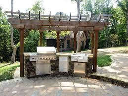 contemporary patios patio and outdoor kitchen idea simple outdoor