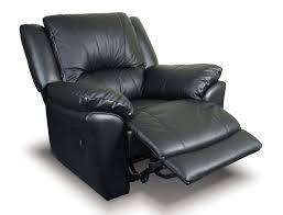 Black Leather Recliner Black Leather Recliner Glorema
