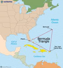 map usa bermuda the bermuda triangle map and details