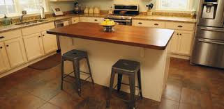 countertop for kitchen island adding a kitchen island to improve efficiency and storage today s