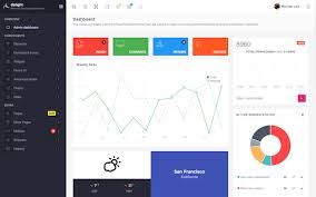 Material Design Ideas Responsive Dashboard Themes Wrapbootstrap