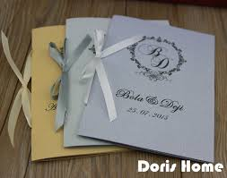 customized wedding programs customized wedding program of events wedding booklet in hair