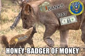 Honey Badger Meme Generator - honey badger of money bitcoin the honey badger of money meme