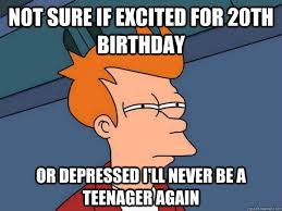 20th Birthday Meme - 70 awesome happy 20th birthday wishes and quotes bayart