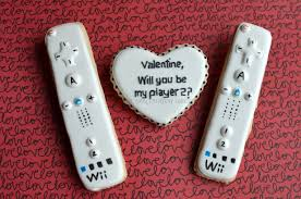 gamer valentines cards gamer s day cookies not your everyday cookie