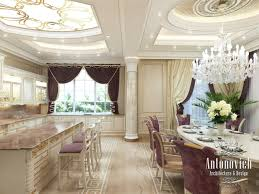 kitchen design in dubai kitchen interior in neoclassical photo 2