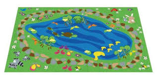 Green Kids Rug Animal Rugs And Nature Kidcarpet Com