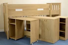 Merlin Study Bunk Bed Bedroom Furniture - Study bunk bed