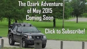 nissan xterra 2015 green ozarks trailer youtube