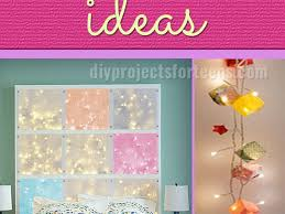 Bedroom Decor  Awesome String Lights For Bedroom Diy String Light - Cool diy bedroom ideas