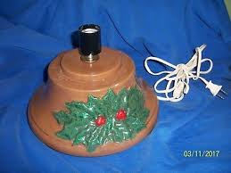 replacement vintage ceramic christmas tree base only green with