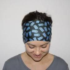 doctor headband minions despicable me inspired headband fitness headband