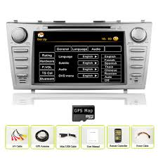toyota english toyota camry car gps navigation stereo dvd player bluetooth ipod