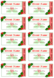 event ticket templates make your own printable tickets