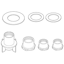 delta thick deck mounting kit for kitchen faucets rp37775 the