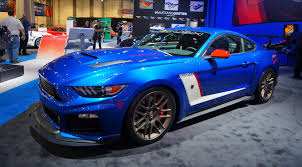 roush mustang stages 2015 roush stage 3 trakpak mustang at sema 2014