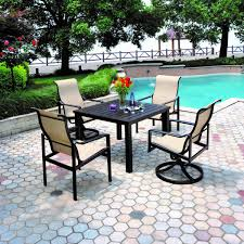 Conversing Dining Table Hanamint Hyde Park Sling Dining Chair All Things Barbecue