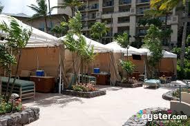cabanas at the pool at the ritz carlton kapalua oyster com