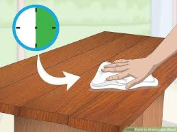 7 Techniques For Finishing Beech Woodworking Projects by 3 Ways To Waterproof Wood Wikihow