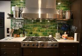 Glass Kitchen Backsplash Tiles Green Backsplash Tile Home U2013 Tiles