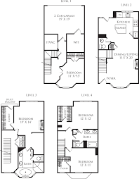 Arlington House Floor Plan by Vista On Courthouse Apartments In Arlington 2200 12th Court