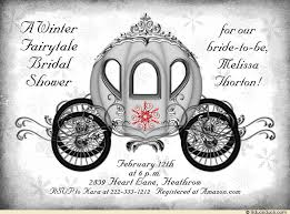 Fairytale Wedding Invitations Fairytale Wedding Shower Invitation Black Gray White U0026 Red