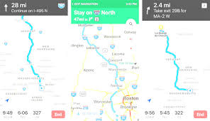 Google Maps And Directions Map And Directions From One Place To Another How To Use The New