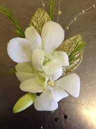 orchid boutonniere golden white orchid boutonniere in cherry hill nj flower boutique
