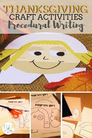 thanksgiving writing activity 162 best procedural text images on pinterest teaching writing