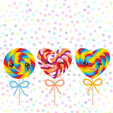 s day lollipops kawaii s day heart shaped candy lollipops with bow