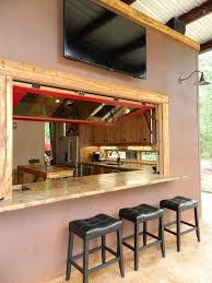 decorative window bars patio rustic with concrete counters cor ten