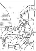 teenage mutant ninja turtles coloring pages free coloring pages