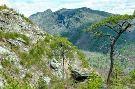 table rock hiking trail hiking the linville gorge area pisgah national forest nc