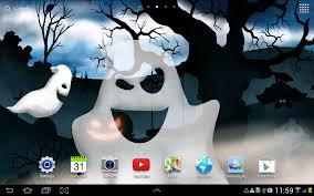 spooky halloween background sounds halloween night live wallpaper android apps on google play