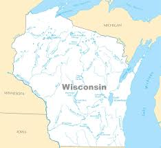 Map Of Michigan Lakes Wisconsin Lakes Map