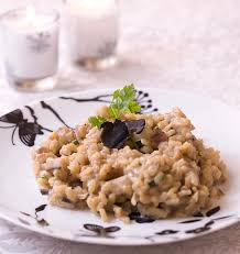 chataignes recettes cuisine risotto aux châtaignes et à la truffe les meilleures recettes de