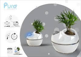 self watering indoor planters autonomous planters self watering planter