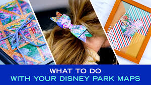 Disney Park Maps 4 Ways To Re Use Your Disney Park Maps