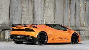 Lamborghini Huracan Body Kit - vision of speed unveils carbon finished lamborghini huracan spyder