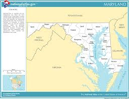 maryland map by county outline printable maps reference