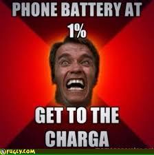 Funny Phone Memes - phone battery at 1 percent meme