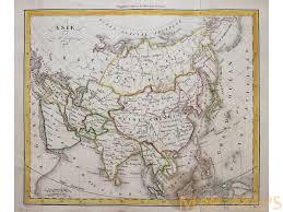 Map Asia by Asia Antique Map Asie Par A H Dufour 1828 Mapandmap