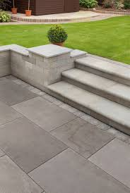 Garden Paving Ideas Uk Fairstone Flamed Narias Garden Paving Marshalls Co Uk